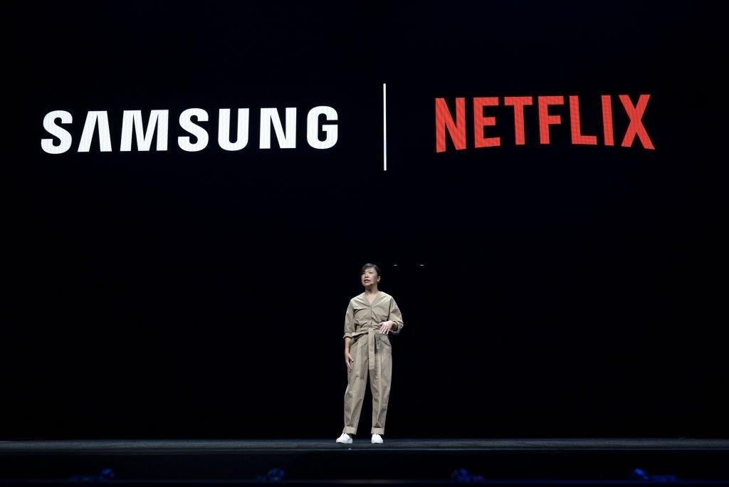 Samsung e Netflix