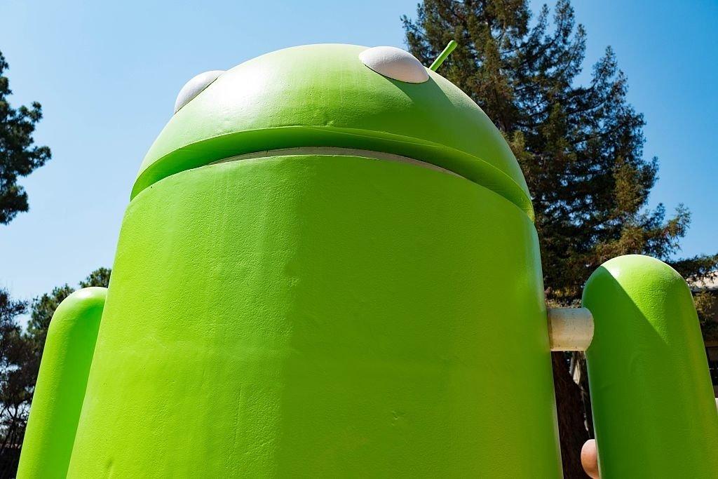 Android estátua da Google