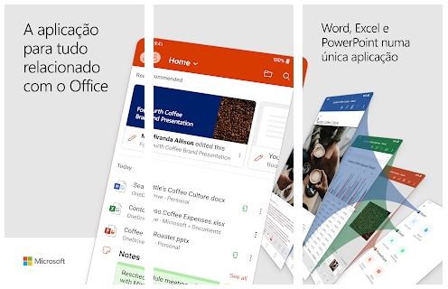 imagens do office para android
