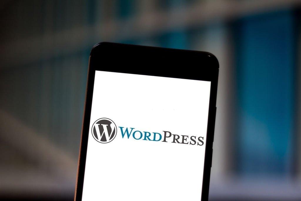 Wordpress em smartphone