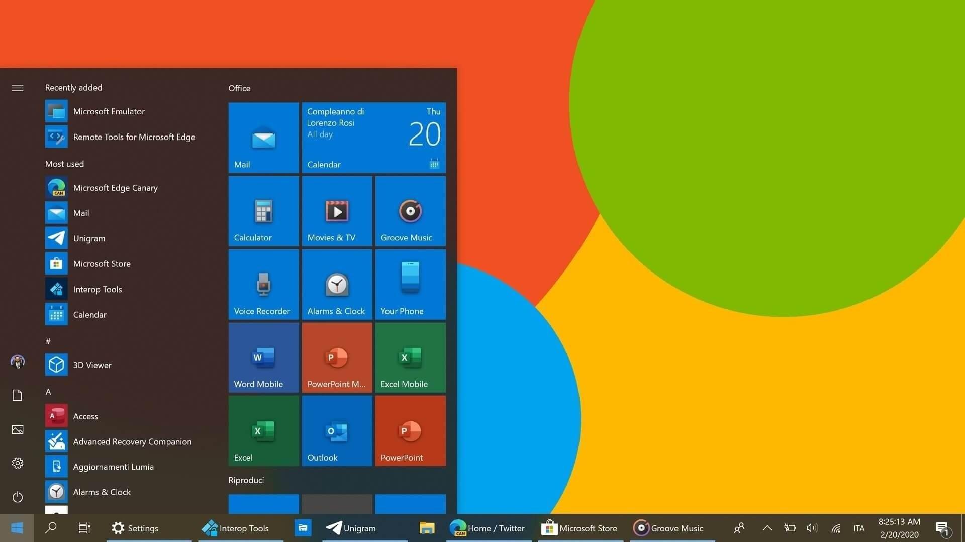Windows 10 ícones novos