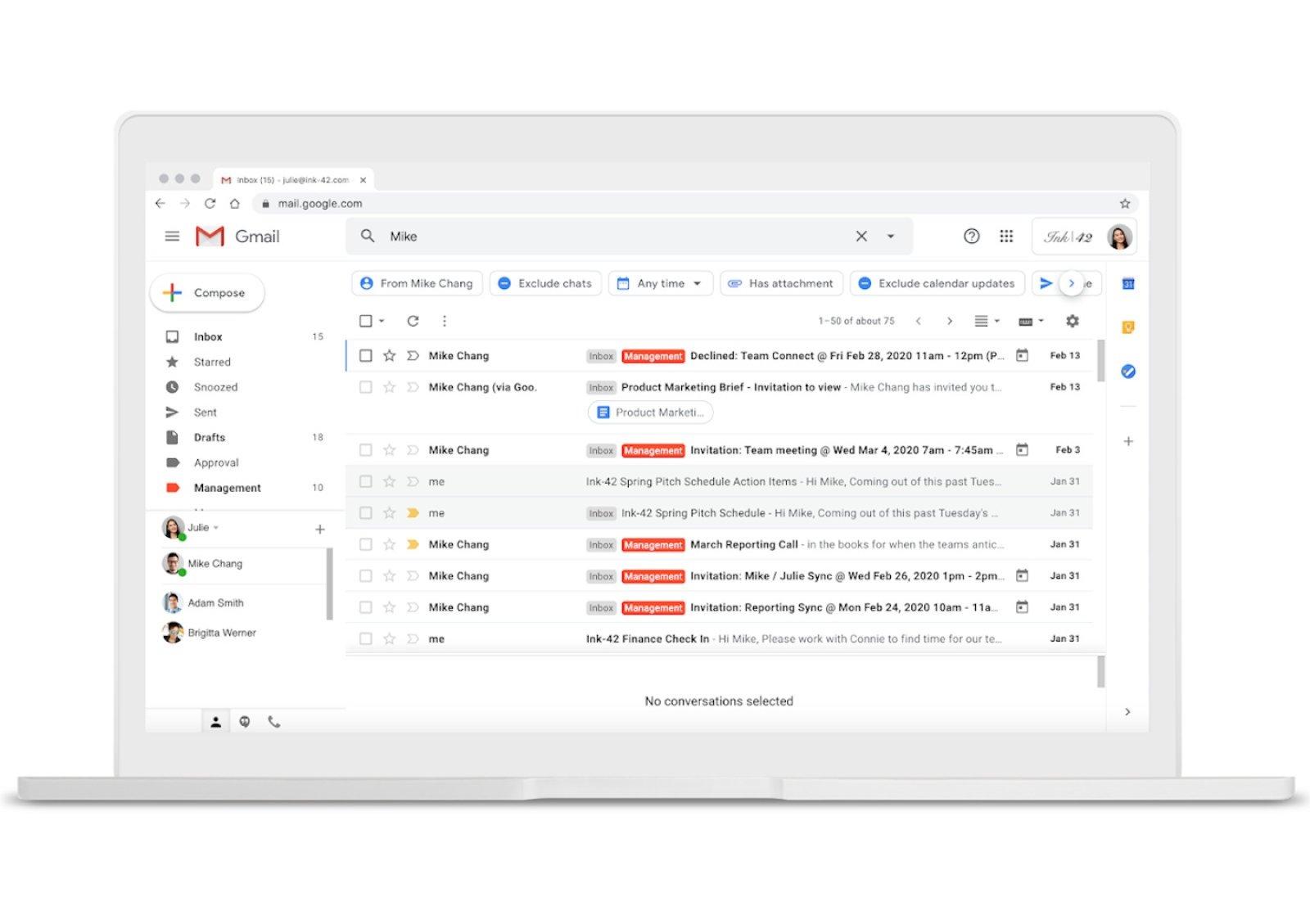 Gmail google e as pesquisas