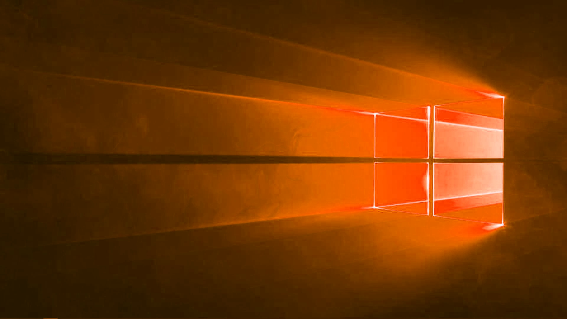 Windows 10 laranja