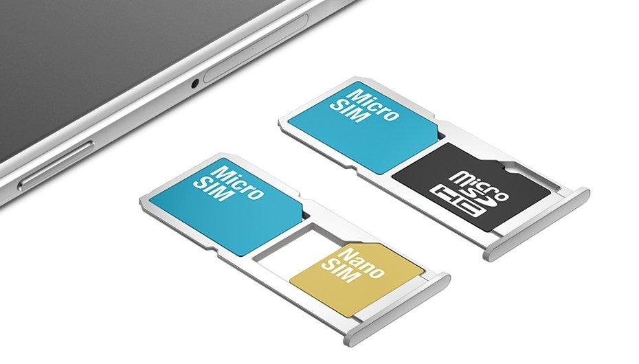 cartão SIM e microSD