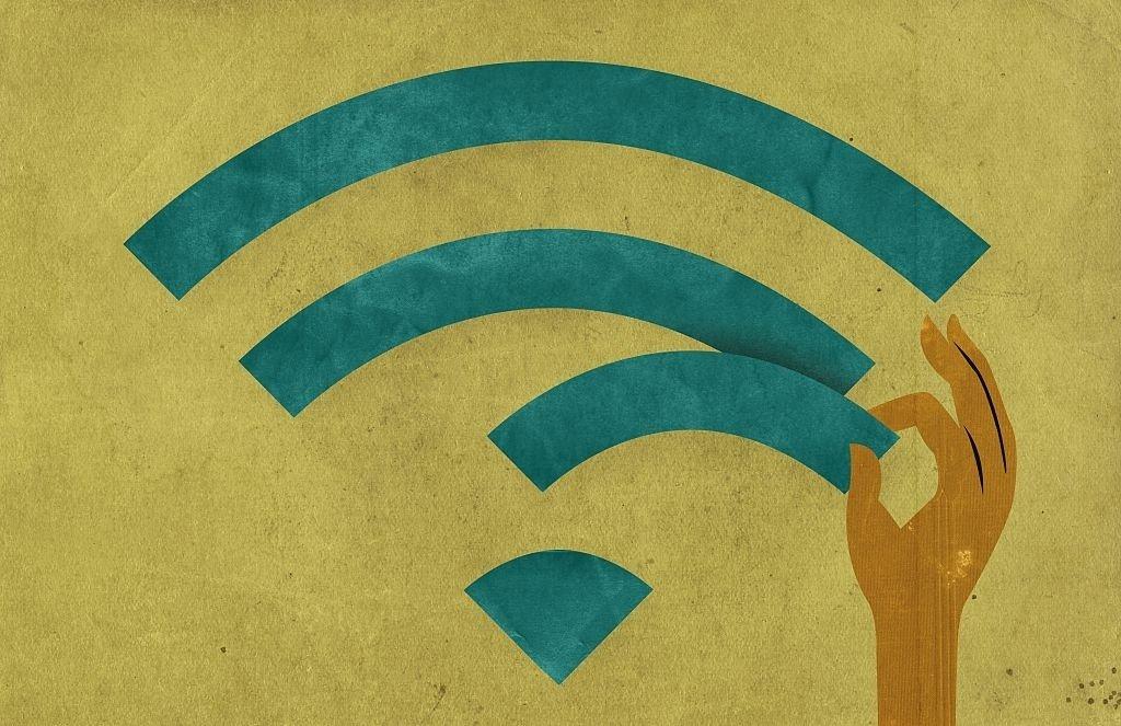 falha no Wi-fi segurança