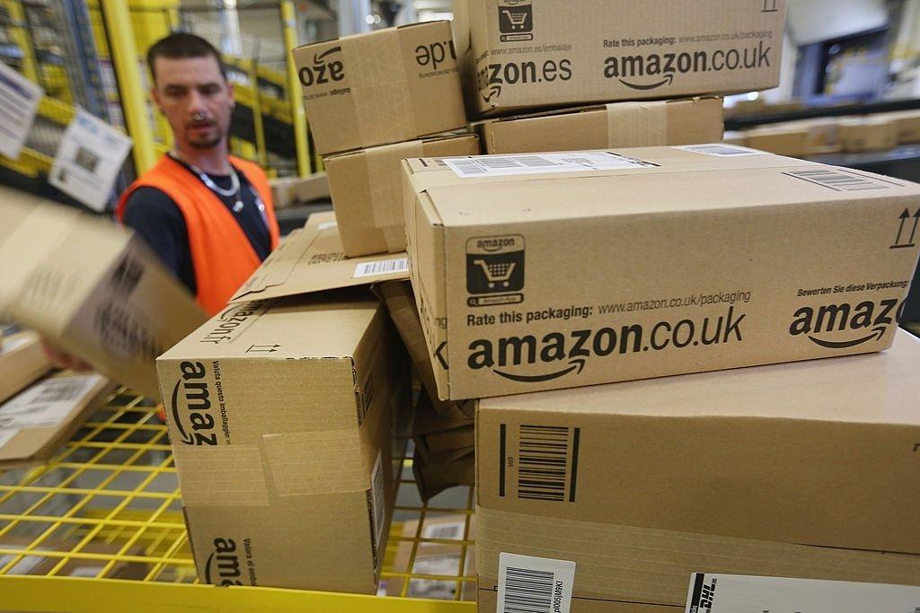 Amazon caixas