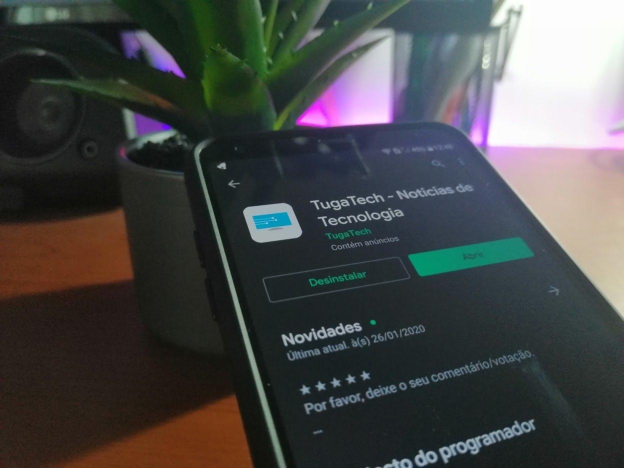 Google Play Store TugaTech