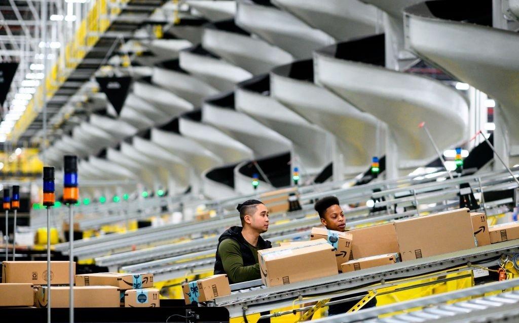 Amazon empresa distribuição