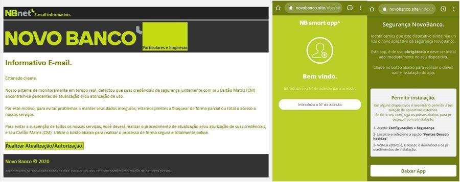 exemplo de imagem de phishing