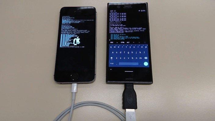 jailbreak sobre um android para iphone