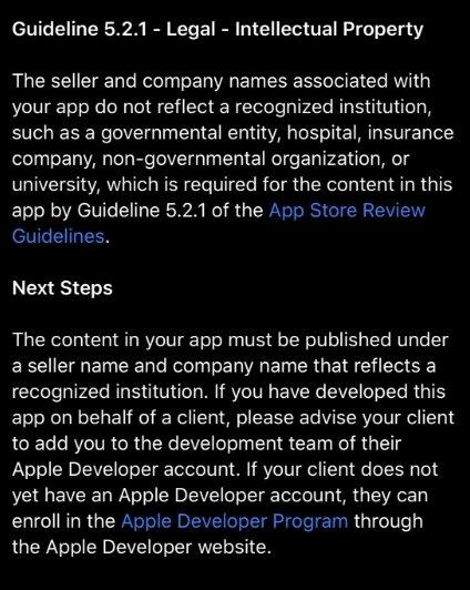 exemplo de email da apple
