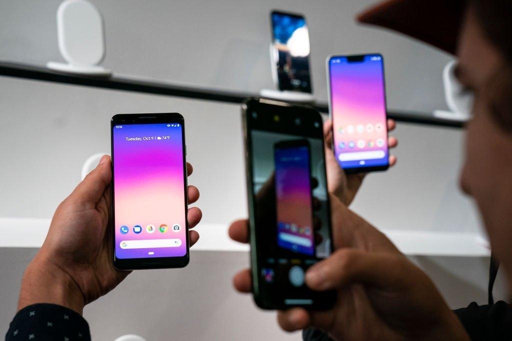 smartphone android google pixel