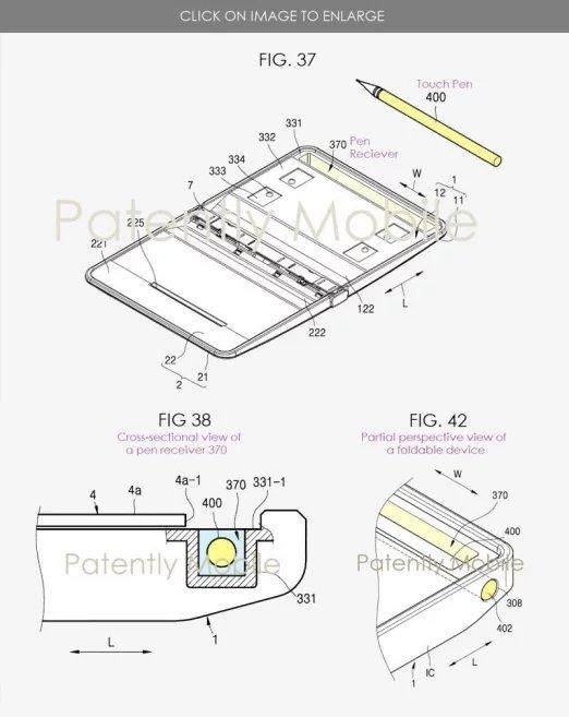 imagem da patente samsung