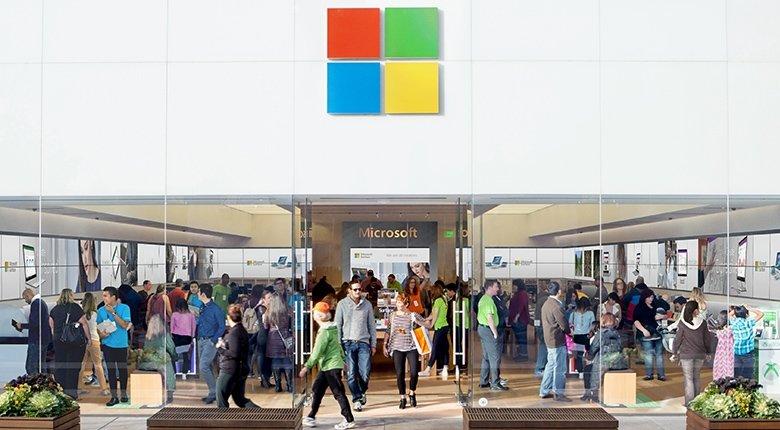 Microsoft Store loja fisica