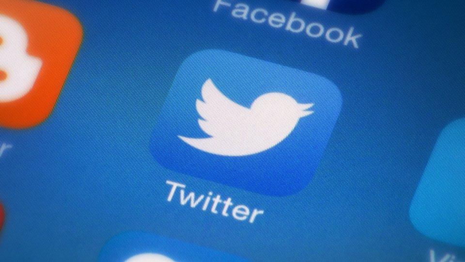 Twitter logo app