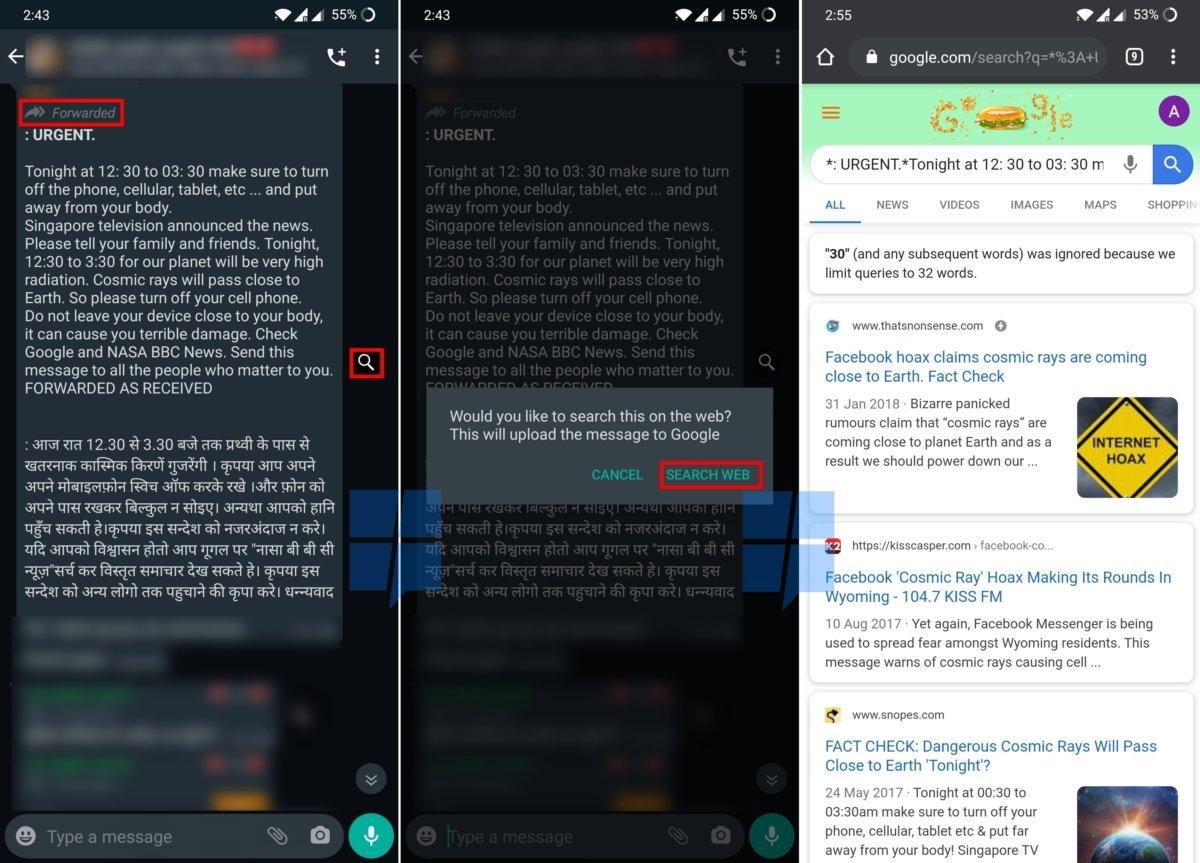 avaliação mensagens whatsapp