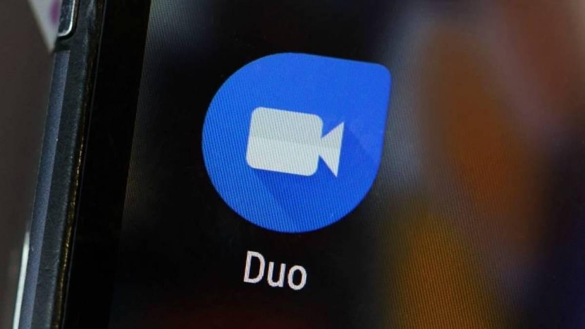Google duo em smartphone