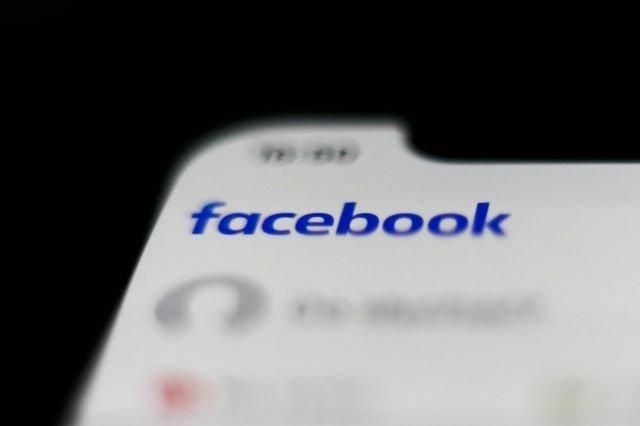 Facebook app smartphone