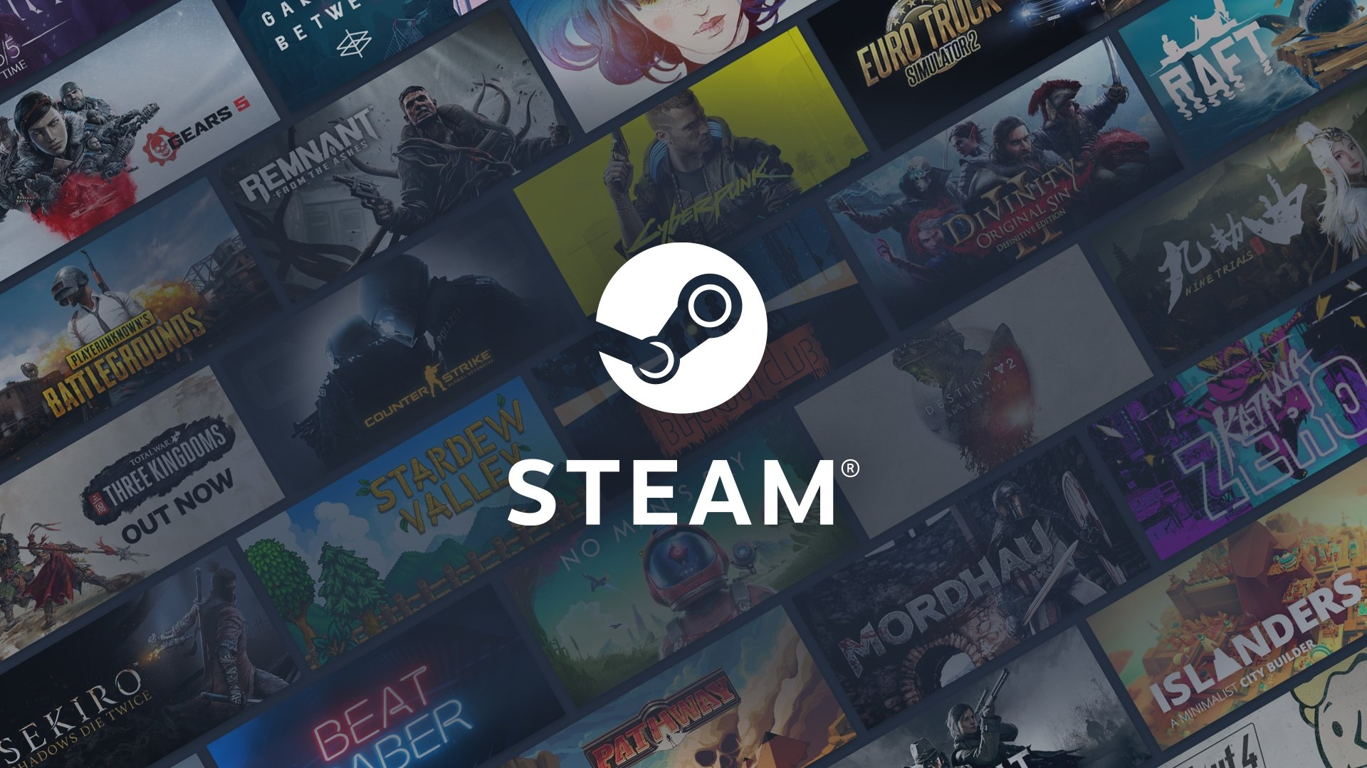 Steam logo logo