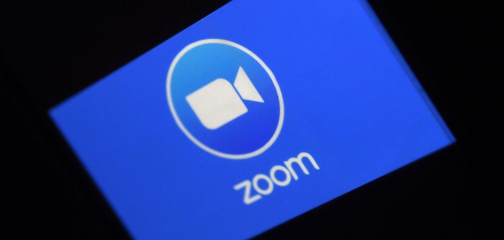 zoom logo ecrã