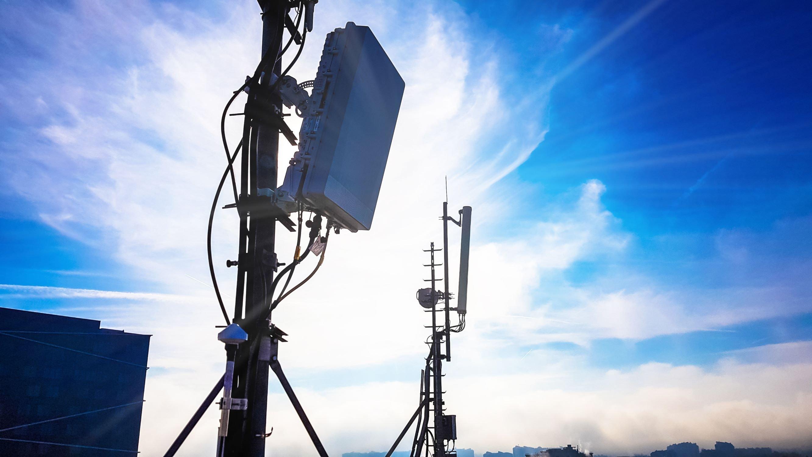 Antena de rede 5g