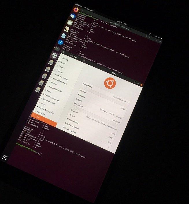 ubuntu no nokia 950