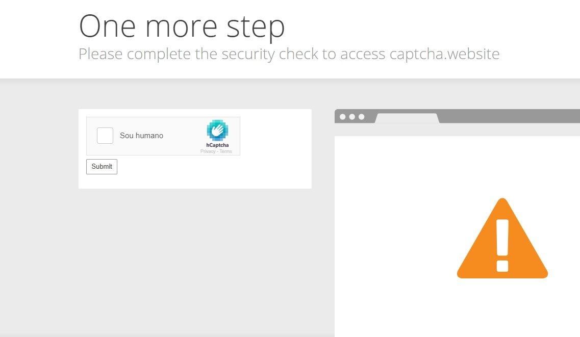 Cloudflare página bloqueio