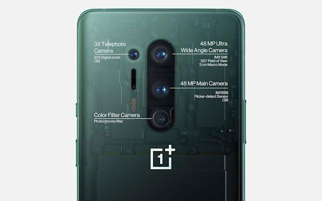 OnePlus câmera traseira
