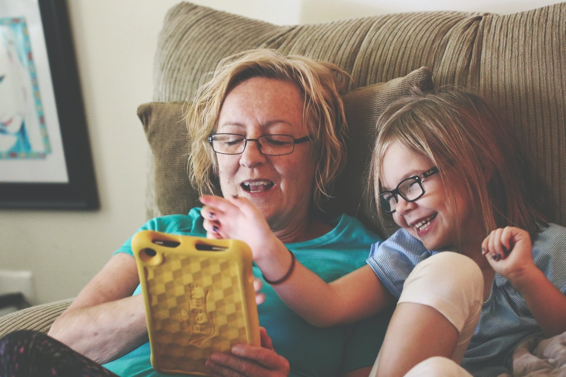 tablet menores crianças
