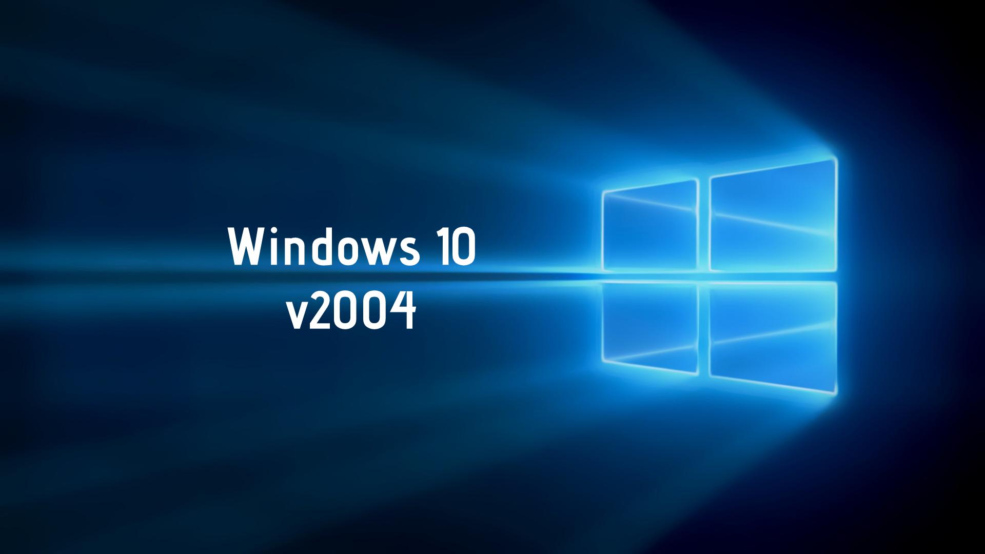 Windows 10 v2004