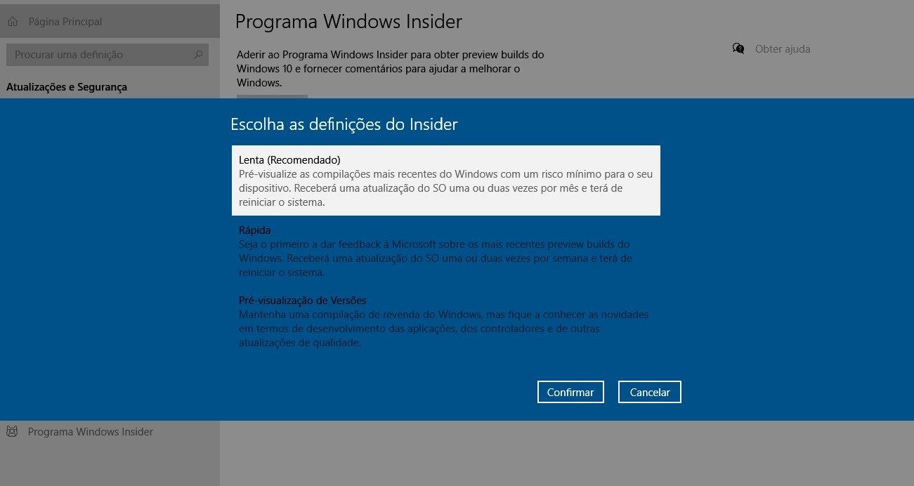 windows 10 insider lenta