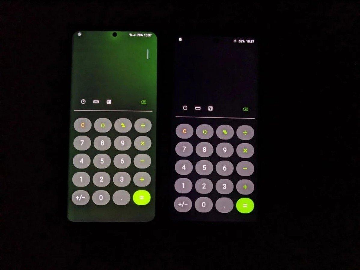 Samsung galaxy s20 ultra ecrã verde