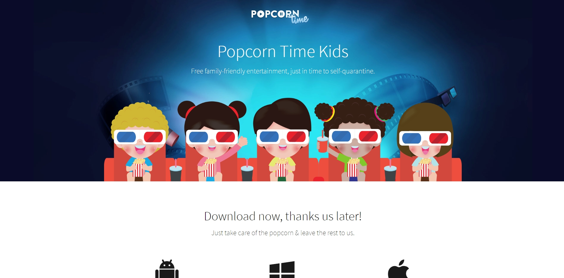 popcorn Time for kids