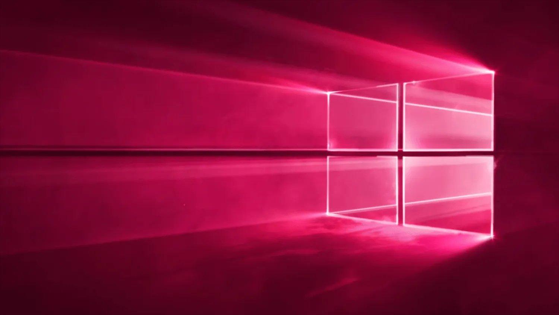 Windows 10 vermelho