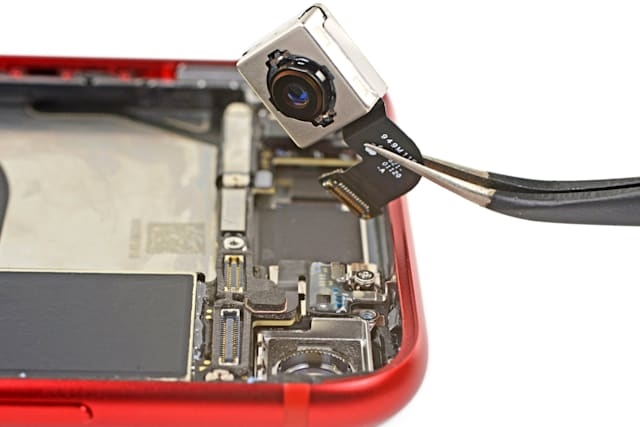 iPhone SE câmara
