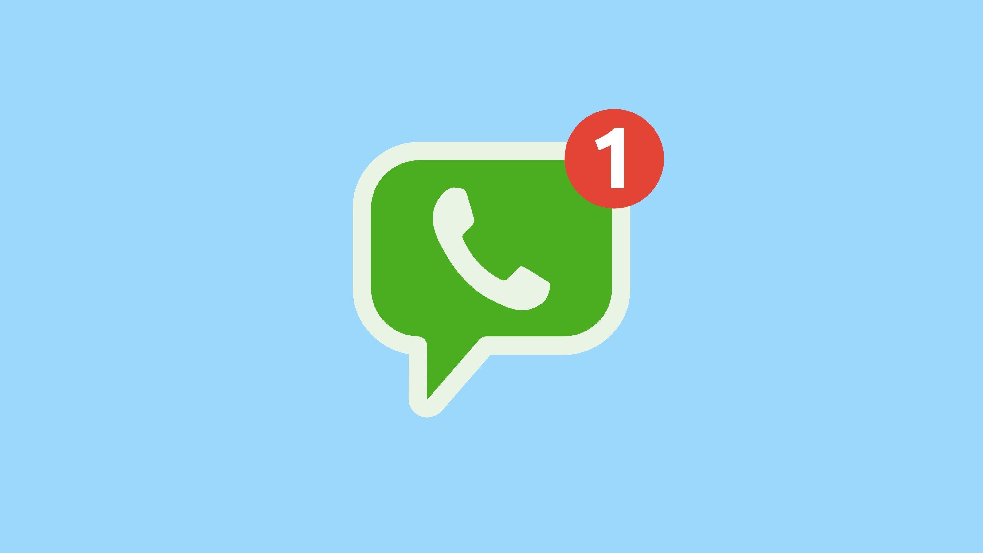 WhatsApp ícone mensagem