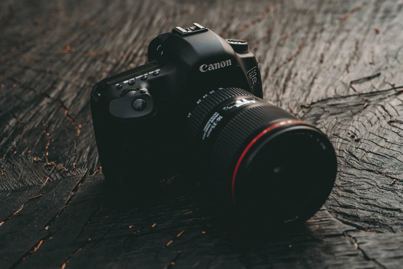 Canon câmara profissional