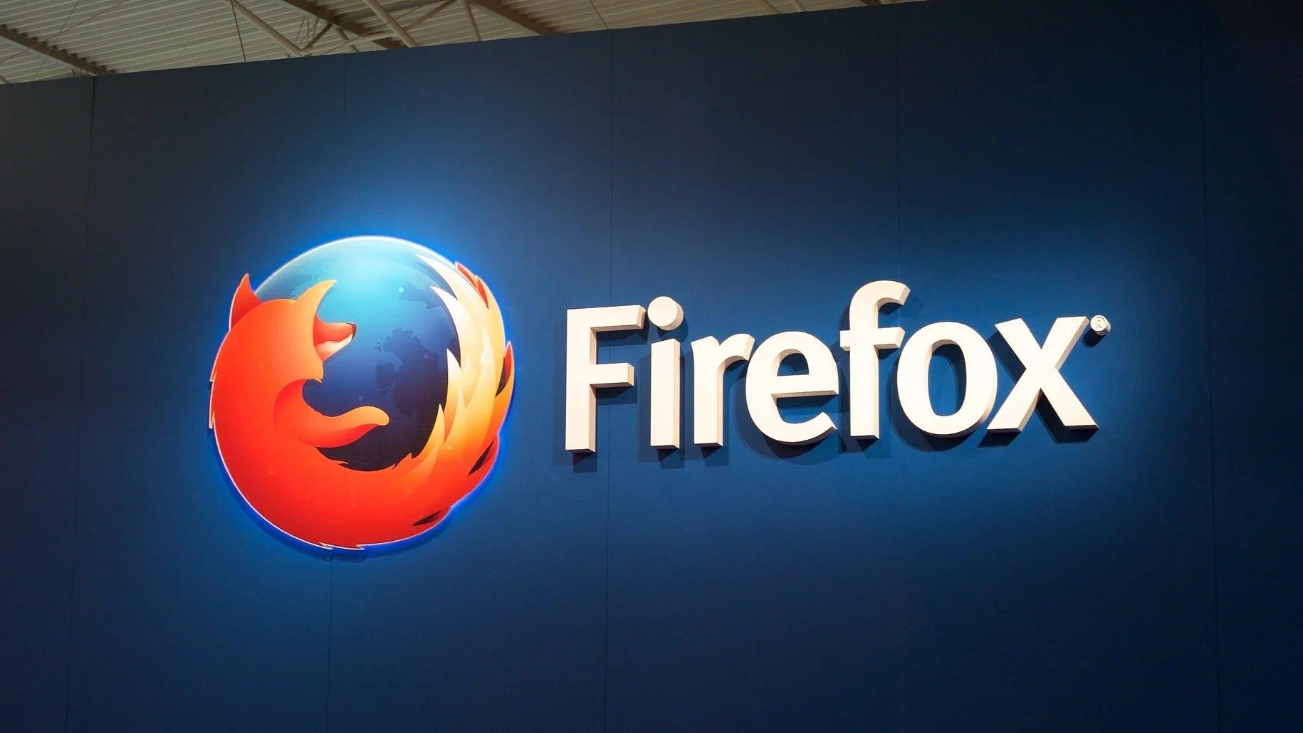 Firefox logo parede