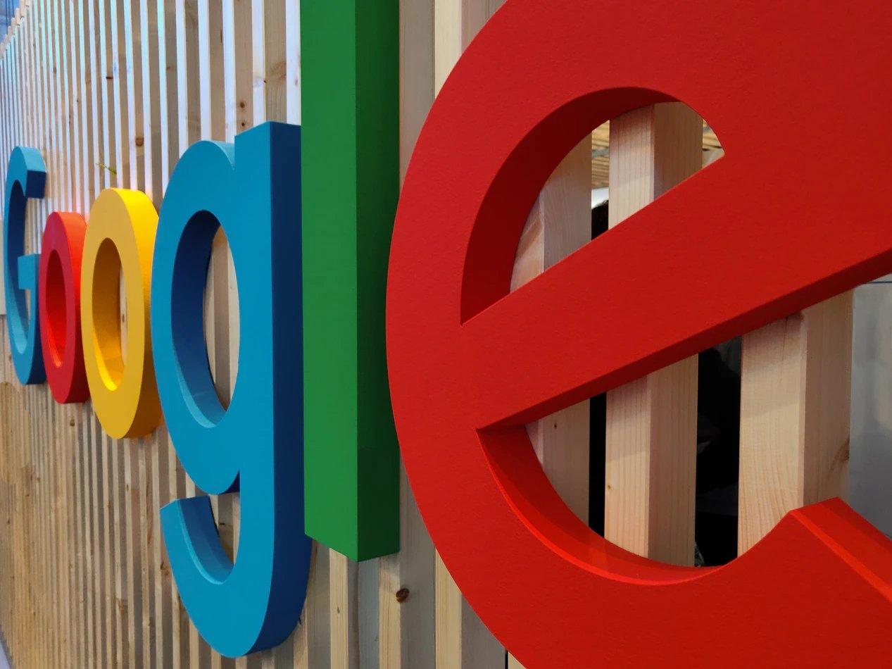 Google placa logo