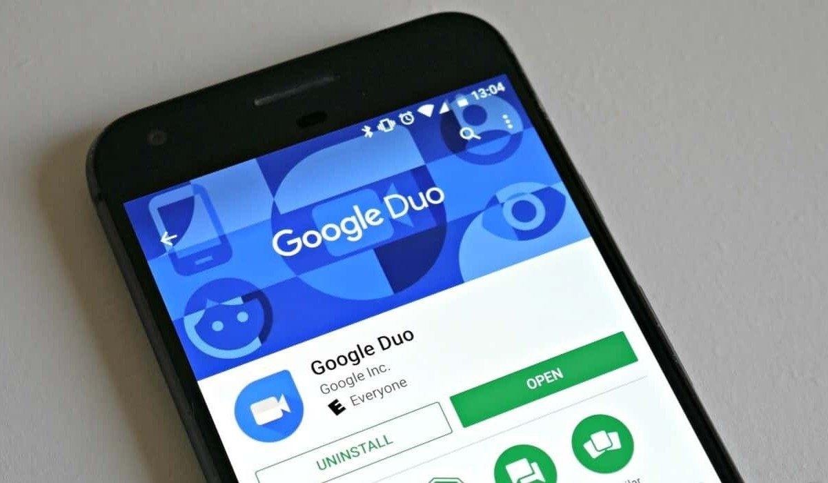 Google duo aplicação play store