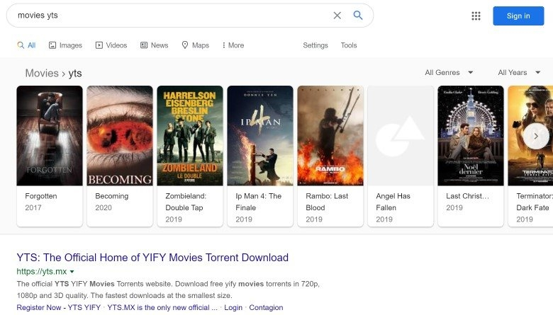 lista filmes sites piratas
