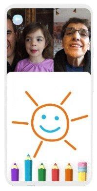 modo família google duo