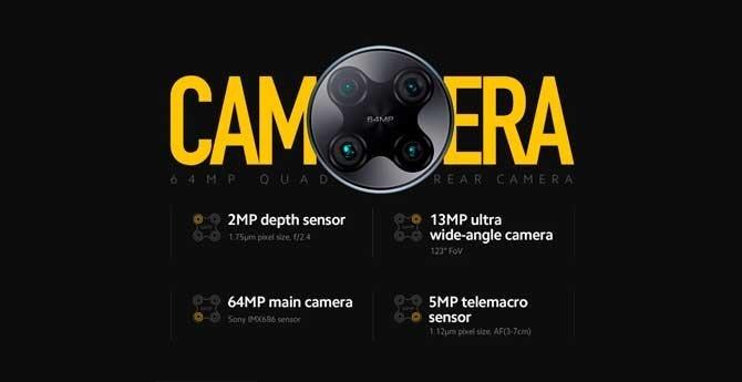 câmaras poco f2