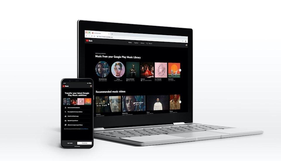 Youtube Music migração