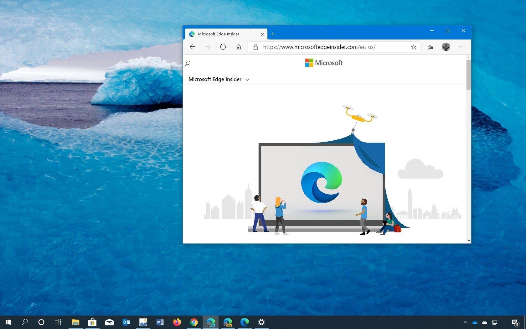 Windows 10 edge navegador