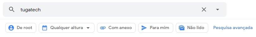 pesquisa gmail google