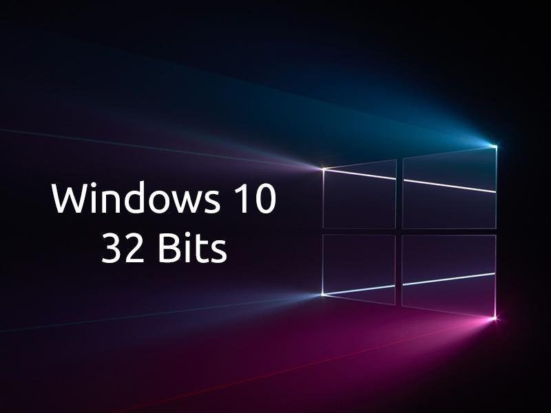 Windows 10 32 bits