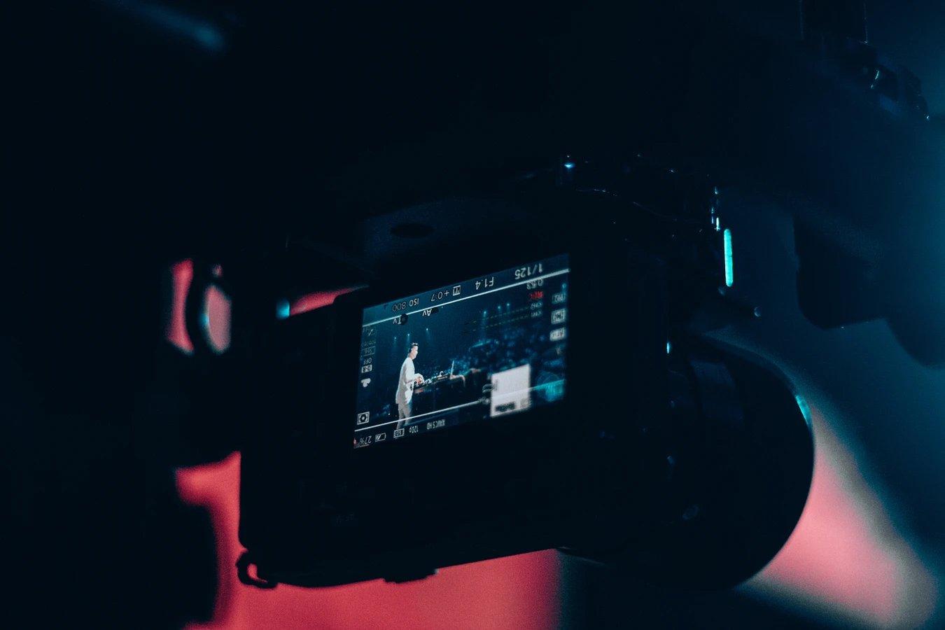 Sony câmera ecrã