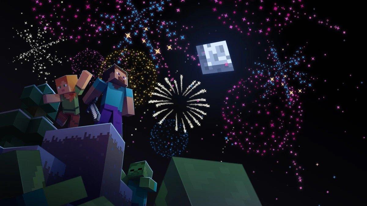 minecraft celebração